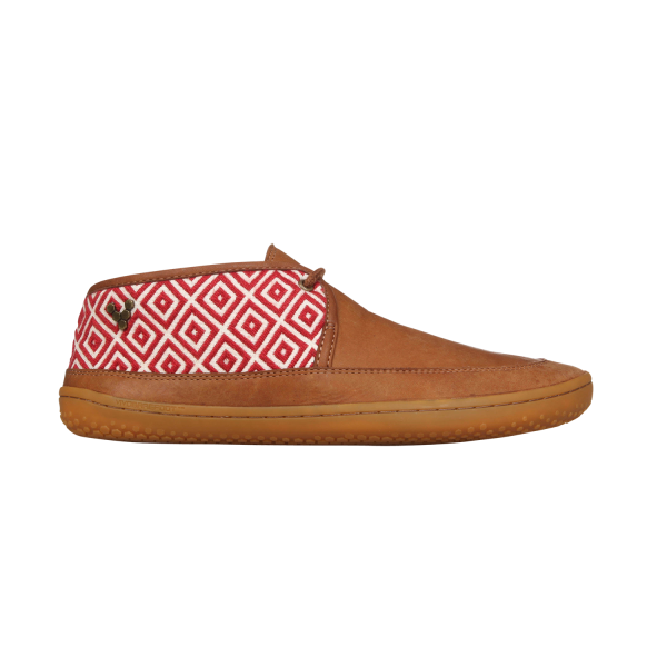 Vivobarefoot  GIA L Leather Chestnut/Hide (4)