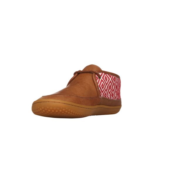 Vivobarefoot  GIA L Leather Chestnut/Hide (5)