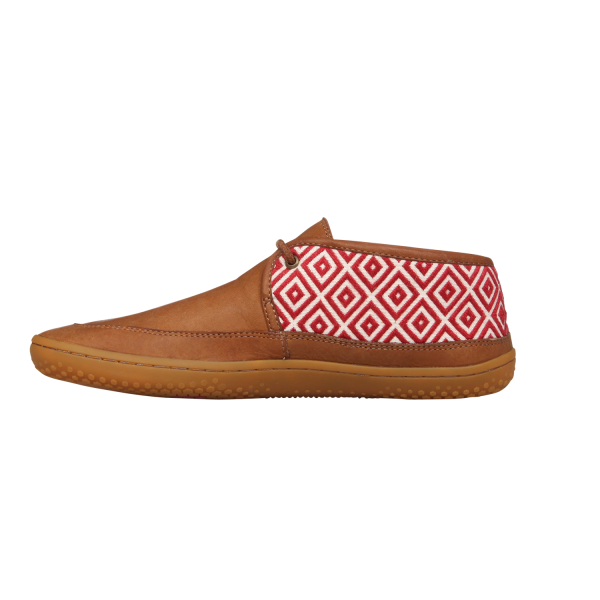 Vivobarefoot  GIA L Leather Chestnut/Hide (6)