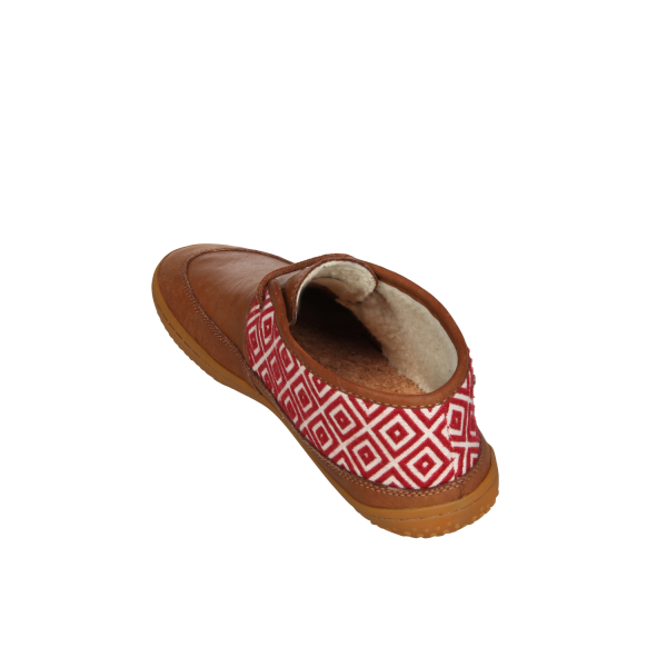 Vivobarefoot  GIA L Leather Chestnut/Hide (8)