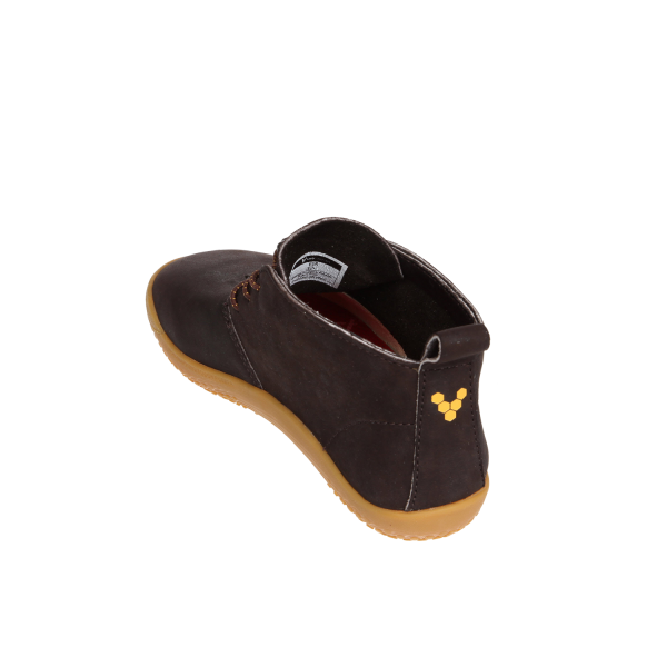 Vivobarefoot  GOBI K Leather Dk Brown (8)