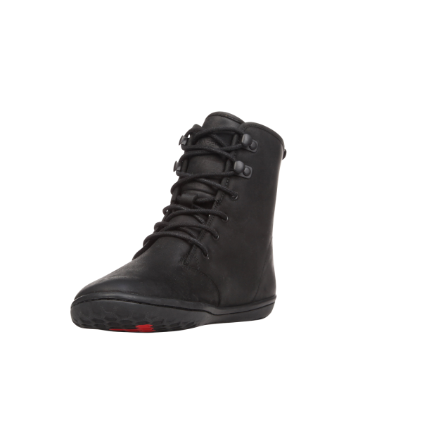 Vivobarefoot  GOBI HI TOP L Leather Black (5)