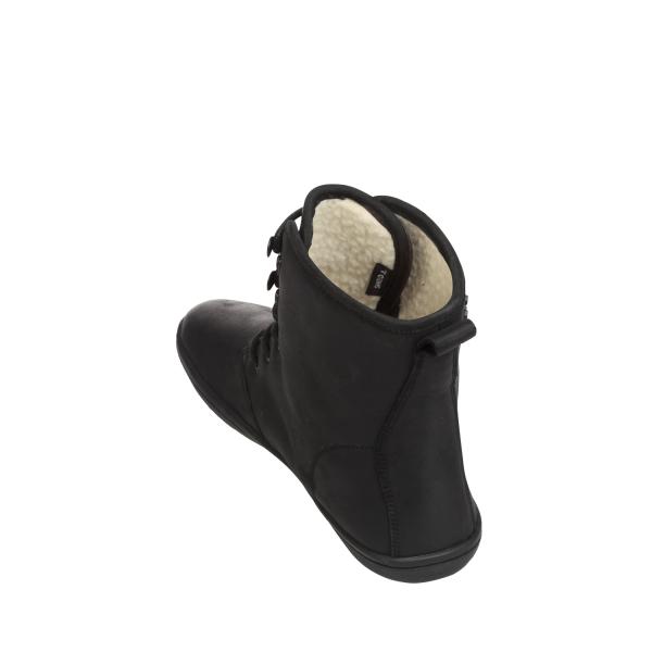 Vivobarefoot  GOBI HI TOP L Leather Black/Hide (8)