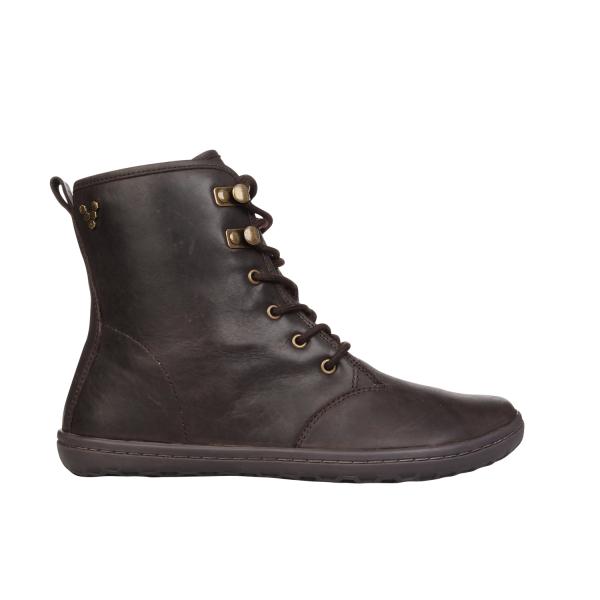 Vivobarefoot  GOBI HI TOP L Leather Dk Brown (4)