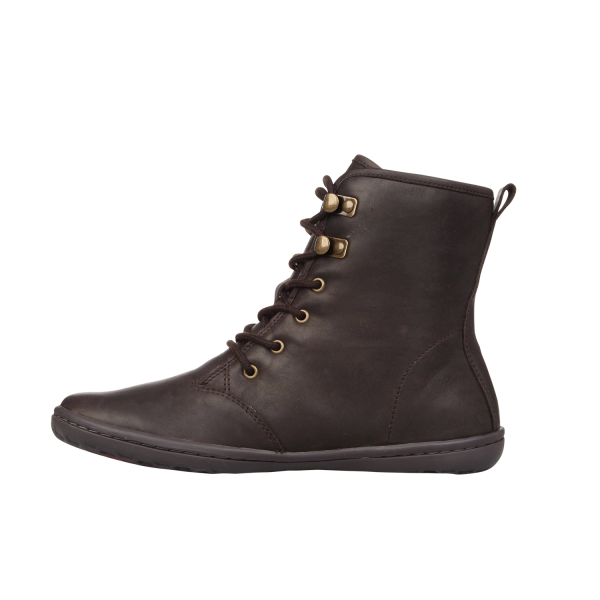Vivobarefoot  GOBI HI TOP L Leather Dk Brown (6)