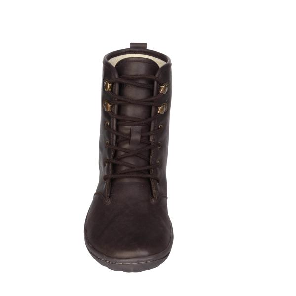 Vivobarefoot  GOBI HI TOP L Leather Dk Brown (7)