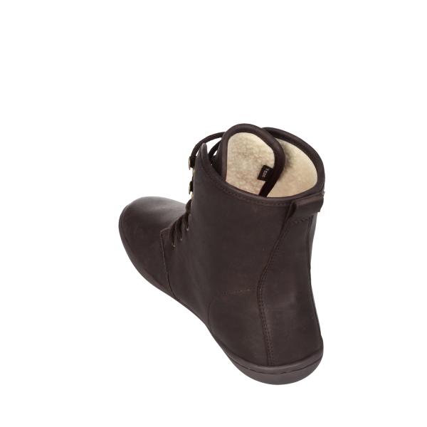 Vivobarefoot  GOBI HI TOP L Leather Dk Brown (8)