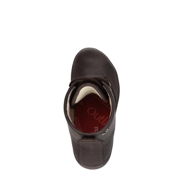 Vivobarefoot  GOBI HI TOP L Leather Dk Brown (9)