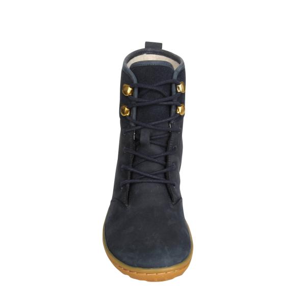 Vivobarefoot  GOBI HI TOP L Leather Navy/Hide (7)