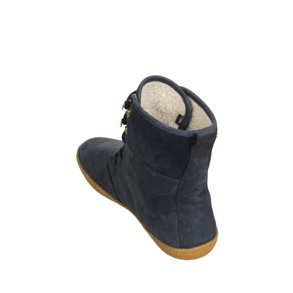 Vivobarefoot  GOBI HI TOP L Leather Navy/Hide (8)