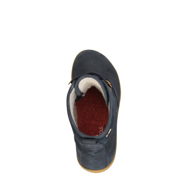 Vivobarefoot  GOBI HI TOP L Leather Navy/Hide (9)