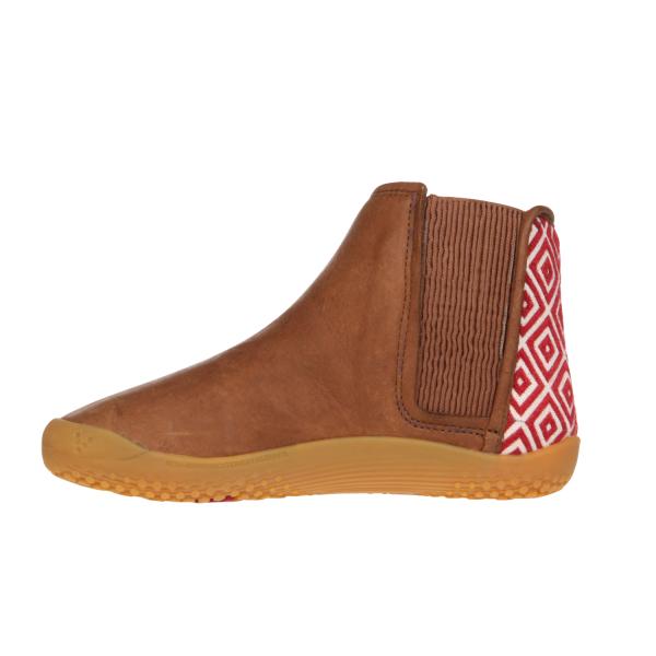 Vivobarefoot  NEPAL K Leather Chestnut (6)