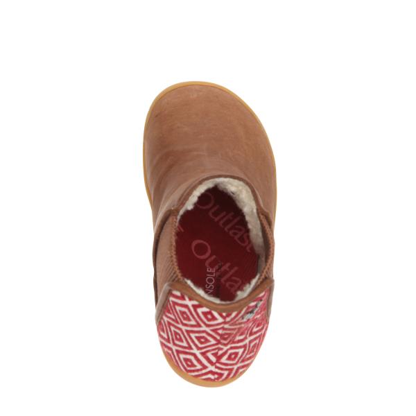 Vivobarefoot  NEPAL K Leather Chestnut (9)