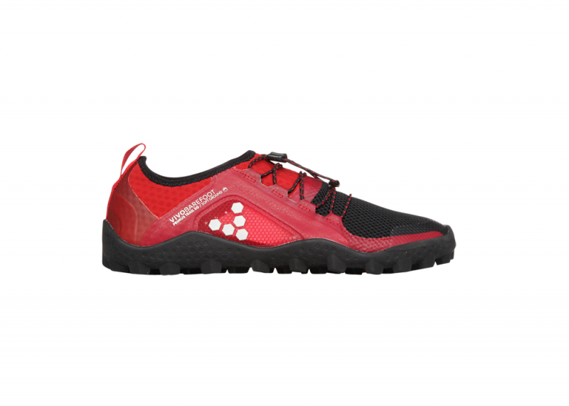 Vivobarefoot  PRIMUS TRAIL SG M Mesh Black/Red (4)