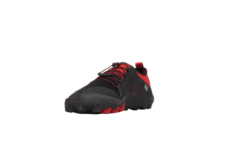 Vivobarefoot  PRIMUS TRAIL SG M Mesh Black/Red (5)