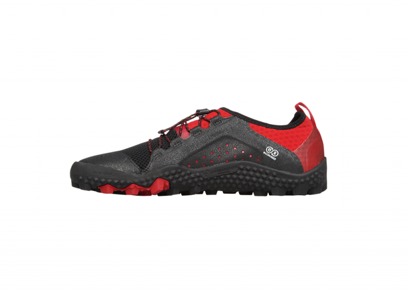 Vivobarefoot  PRIMUS TRAIL SG M Mesh Black/Red (6)