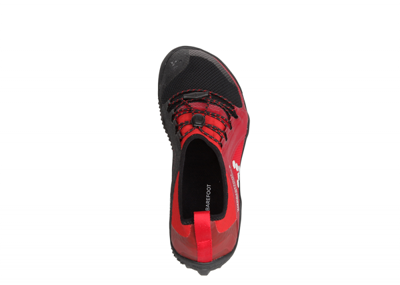 Vivobarefoot  PRIMUS TRAIL SG M Mesh Black/Red (9)