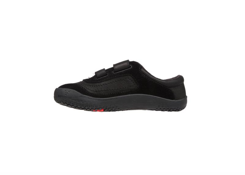 Vivobarefoot RENO K Leather Black/Hide (6)
