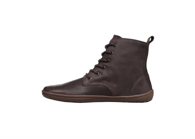 Vivobarefoot  SCOTT M Leather Dk Brown/Hide (5)