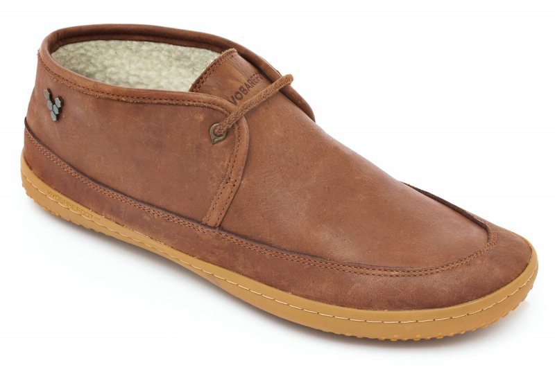 Vivobarefoot  GIA L Leather Chestnut (2)