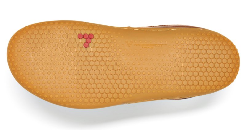 Vivobarefoot  GIA L Leather Chestnut (3)