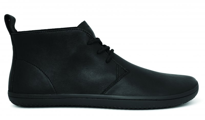 Vivobarefoot GOBI II L Leather Black/Hide (1)