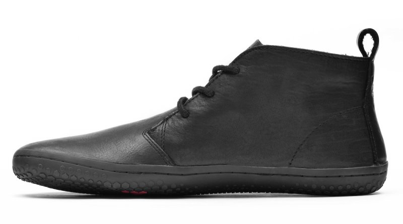 Vivobarefoot GOBI II L Leather Black/Hide (4)