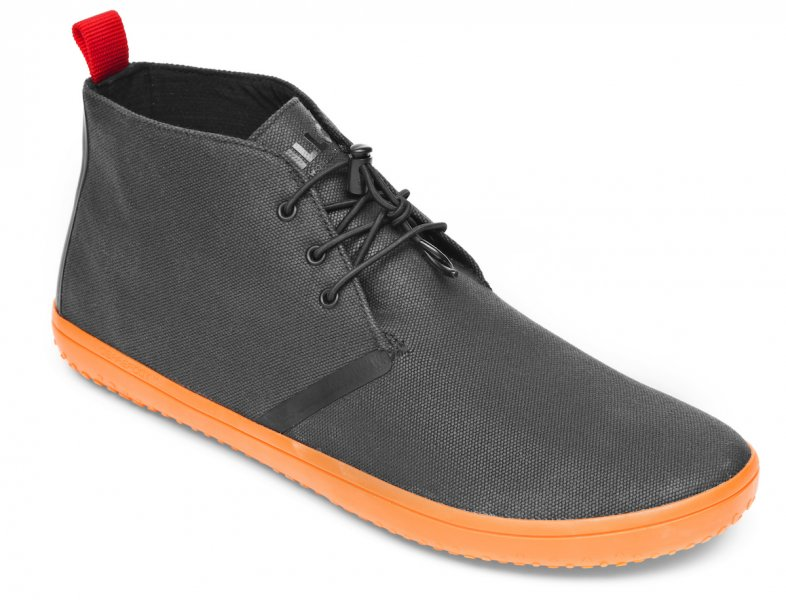 Vivobarefoot GOBI II M Canvas SWR Black/Orange (2)