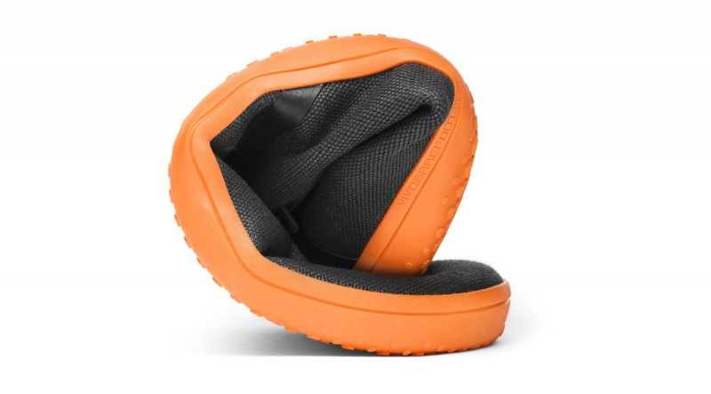 Vivobarefoot GOBI II L Canvas SWR Black/Orange (7)