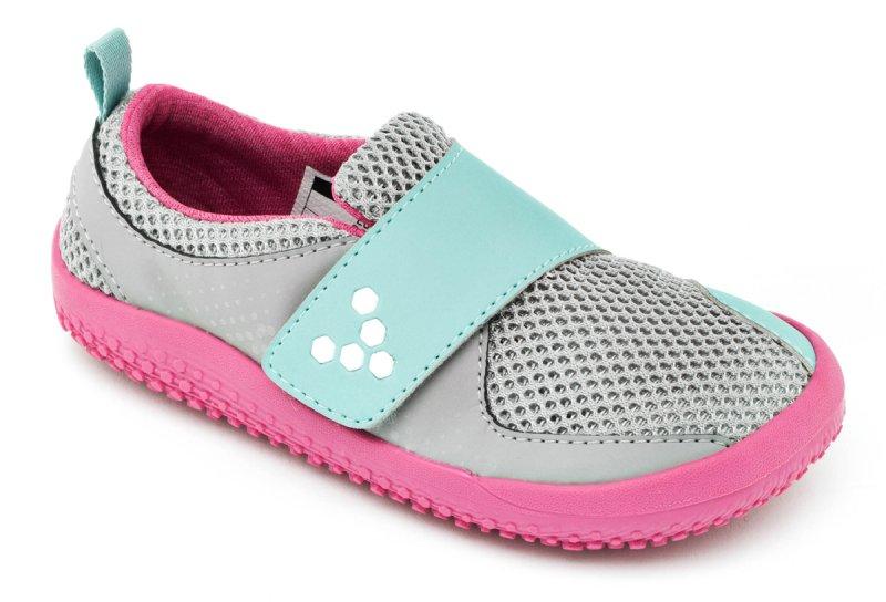 Vivobarefoot MINI PRIMUS K Grey/Pink (2)