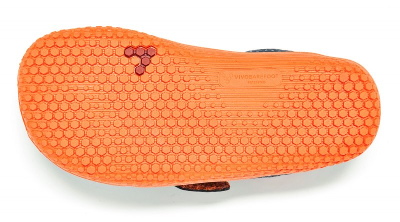 Vivobarefoot MINI PRIMUS K Navy/Orange (3)
