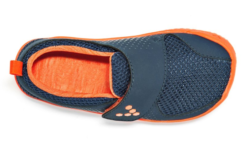 Vivobarefoot MINI PRIMUS K Navy/Orange (6)