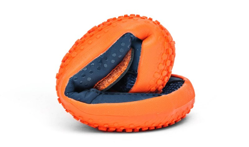 Vivobarefoot MINI PRIMUS K Navy/Orange (7)