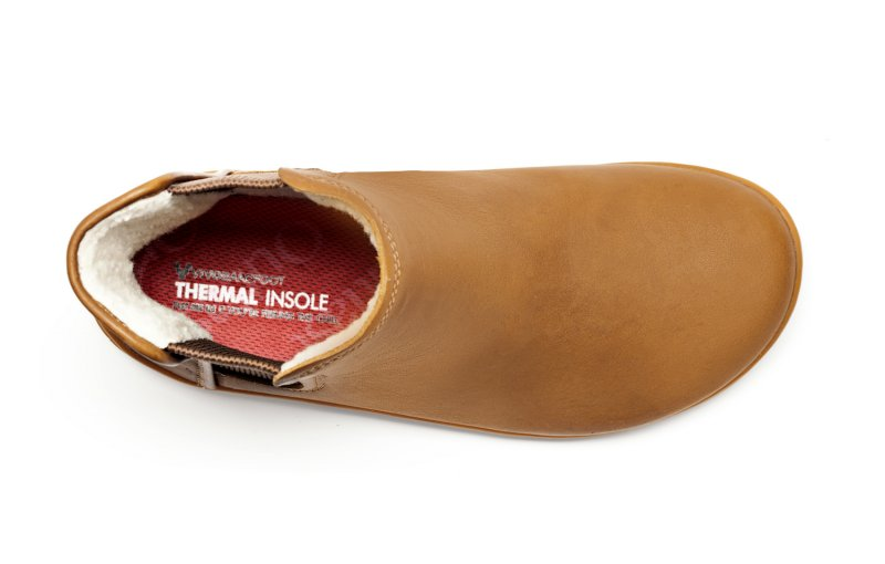 Vivobarefoot  NEPAL L Leather Chestnut (5)