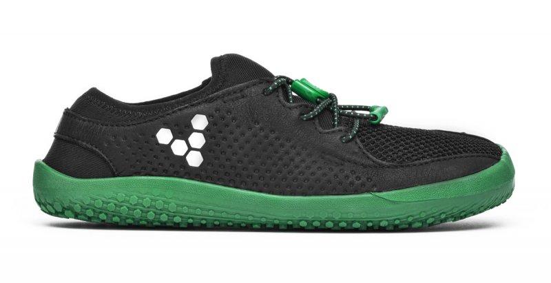 Vivobarefoot PRIMUS K Mesh Black/Green (1)