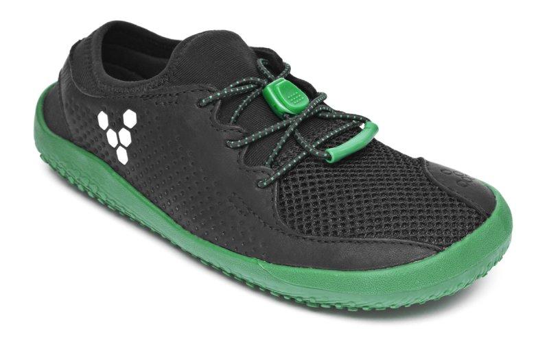 Vivobarefoot PRIMUS K Mesh Black/Green (2)