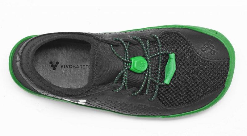Vivobarefoot PRIMUS K Mesh Black/Green (6)