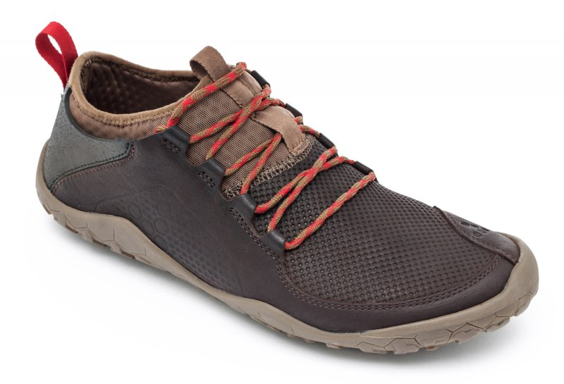 Vivobarefoot PRIMUS TREK M Leather Dk Brown (2)