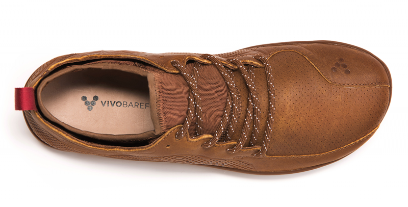 Vivobarefoot PRIMUS LUX WP L Leather Chestnut (6)