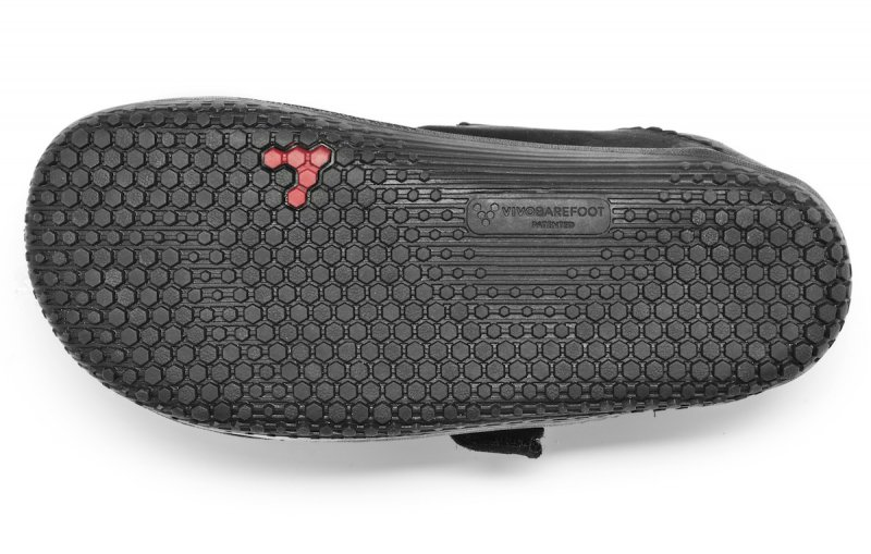 Vivobarefoot WYN K Leather Black/Hide (3)