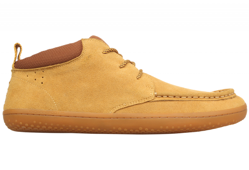 Vivobarefoot  DRAKE M Suede Light Tan (1)