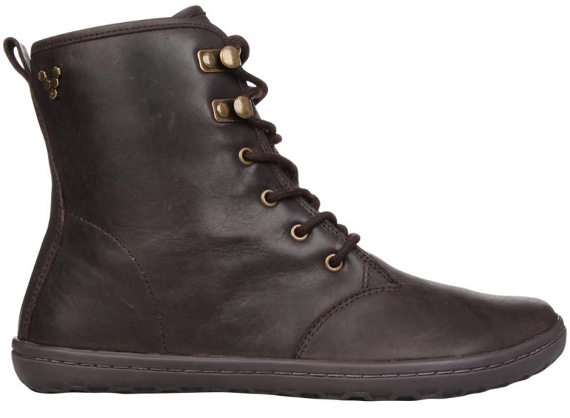 Vivobarefoot  GOBI HI TOP L Leather Dk Brown (1)