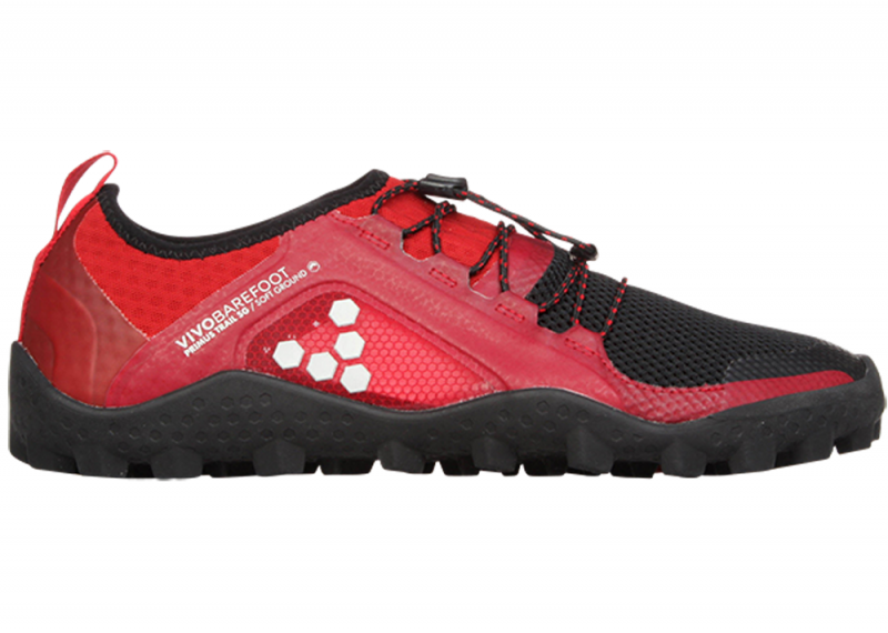 Vivobarefoot  PRIMUS TRAIL SG M Mesh Black/Red (1)