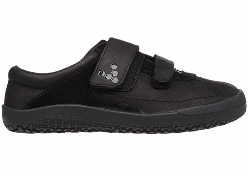 Vivobarefoot  RENO K Leather Black (1)