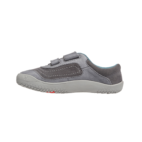 Vivobarefoot  RENO K Leather Grey (4)