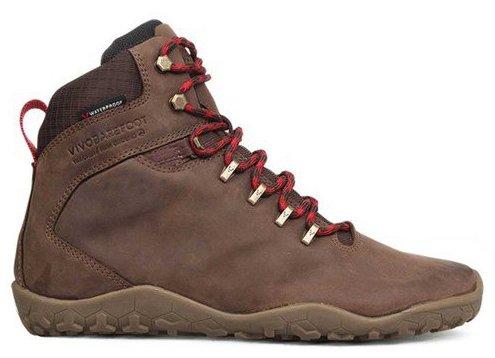 Vivobarefoot  TRACKER FG L Leather Dk Brown (1)