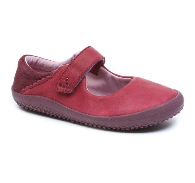 Vivobarefoot  WYN K Leather Burgundy (2)