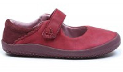 Vivobarefoot  WYN K Leather Burgundy (1)