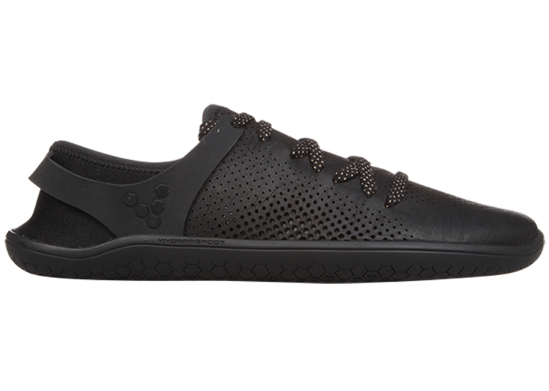 Vivobarefoot  WING LUX L Leather Black (1)