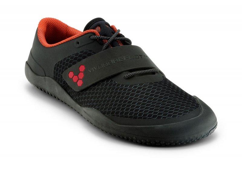 Vivobarefoot MOTUS L Black/ Red (6)